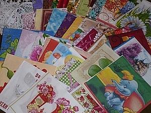Набор салфеток для декупажа! Аукцион с нуля до 22.05ч. | Ярмарка Мастеров - ручная работа, handmade