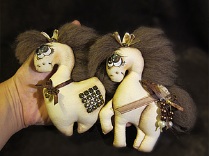 Шьём лошадок - символ 2014 г. 37716