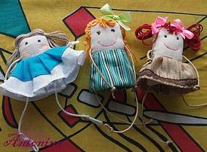 Шьем текстильных куколок в стиле примитивизм. Ярмарка Мастеров - ручная работа, handmade.