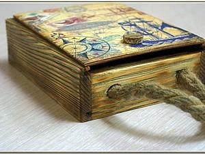 Старое дерево: брашировка в декупаже. | Ярмарка Мастеров - ручная работа, handmade