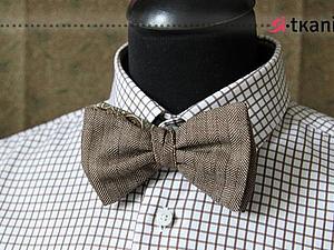 Белый галстук своими руками фото 975