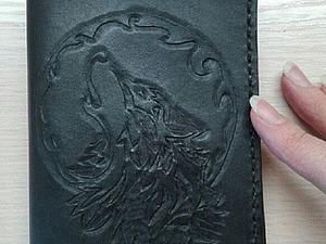 Создаем из кожи обложку на автодокументы. Ярмарка Мастеров - ручная работа, handmade.