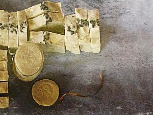 Мыло 'зеленый чай'   Ярмарка Мастеров - ручная работа, handmade