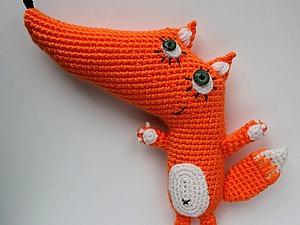 Мастер-класс по вязанию лисы и волка. Ярмарка Мастеров - ручная работа, handmade.