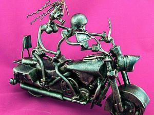 Преображение металла в байк Honda VTX 1800. Ярмарка Мастеров - ручная работа, handmade.