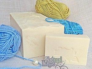 Оливковое мыло с нуля для валяния | Ярмарка Мастеров - ручная работа, handmade