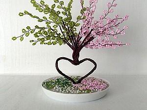 Деревце на счастье   Ярмарка Мастеров - ручная работа, handmade