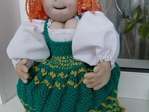 Мастерим куклу на чайник. Часть 1. Ярмарка Мастеров - ручная работа, handmade.