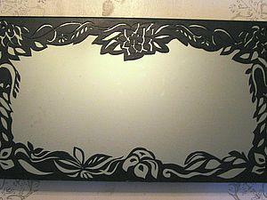 """""""Ришелье"""" на стекле (акриловые кружева). Ярмарка Мастеров - ручная работа, handmade."""