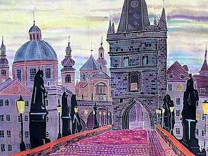 Прага, Карлов Мост.. Ярмарка Мастеров - ручная работа, handmade.