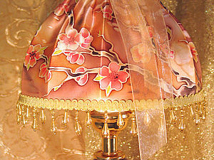 МК Любимый абажур в технике батика | Ярмарка Мастеров - ручная работа, handmade