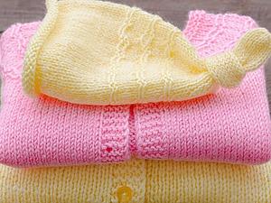 Кофточка для вашей Малышки | Ярмарка Мастеров - ручная работа, handmade