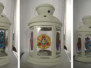 Нерождественский фонарик | Ярмарка Мастеров - ручная работа, handmade