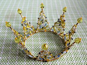 Сказочная корона | Ярмарка Мастеров - ручная работа, handmade