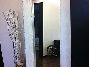 Декорирование зеркала. Многослойная покраска, состаривание. | Ярмарка Мастеров - ручная работа, handmade