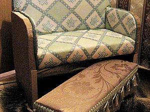 Новый диванчик из старого шкафчика | Ярмарка Мастеров - ручная работа, handmade