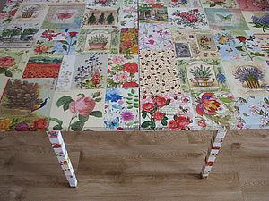 Мастер-класс «Стол &#8211&#x3B; цветочная поляна». Ярмарка Мастеров - ручная работа, handmade.