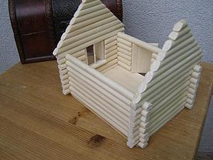 Как строился дом   Ярмарка Мастеров - ручная работа, handmade