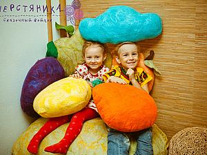 Фруктовая серия диванных подушек готова! | Ярмарка Мастеров - ручная работа, handmade