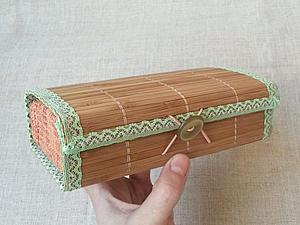 Мастерим футляр для броши | Ярмарка Мастеров - ручная работа, handmade