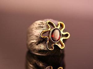 Аукцион на красивое кольцо из серебра и натурального камня | Ярмарка Мастеров - ручная работа, handmade
