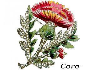 Прекрасные украшения CORO — история | Ярмарка Мастеров - ручная работа, handmade