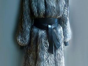 Перекрой шубы из чернобурки или «Феникс-2» | Ярмарка Мастеров - ручная работа, handmade