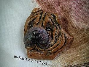 Делаем шарпея из самозатвердевающей полимерной глины. Ярмарка Мастеров - ручная работа, handmade.
