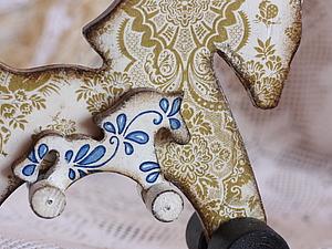 Лошадка с жеребёнком. Ярмарка Мастеров - ручная работа, handmade.