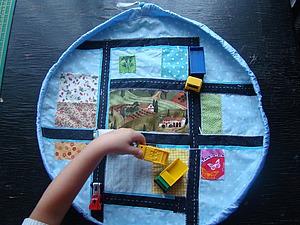 Шьем мешок-коврик для игрушек. Ярмарка Мастеров - ручная работа, handmade.