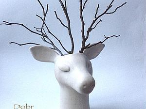 Как из вазы сделать оленя. Ярмарка Мастеров - ручная работа, handmade.