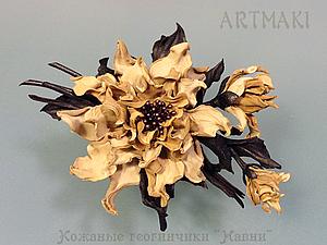 Короткий курс кожаных цветов в феврале | Ярмарка Мастеров - ручная работа, handmade