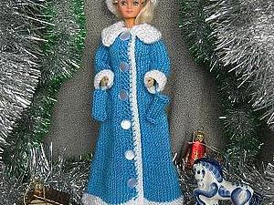"""Вяжем наряд для Барби """"Снегурочка"""". Ярмарка Мастеров - ручная работа, handmade."""