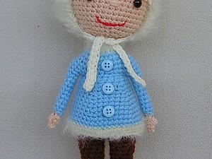 Вяжем куколку из советского мультфильма. Ярмарка Мастеров - ручная работа, handmade.