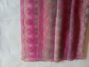 МК с красивейшим и очень простым, даже для новичков в вязании, рисунком.   Ярмарка Мастеров - ручная работа, handmade