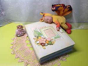 Альбом для маленького мальчика | Ярмарка Мастеров - ручная работа, handmade
