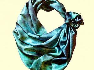 Платочки-узелочки. (Как завязывать платок, шарф.)   Ярмарка Мастеров - ручная работа, handmade