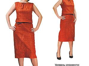 Мини-презентация: Выкройка-платье в технике нуно-войлок | Ярмарка Мастеров - ручная работа, handmade