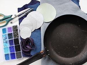 Кожаное украшение 4 в 1 для летнего образа, handmade