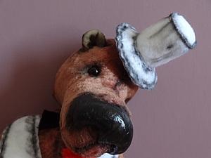Тедди аукцион на 2-х мишек тедди с розыгрышем мини мишки и вязаного большого зайца. | Ярмарка Мастеров - ручная работа, handmade