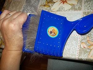 Подготовка собачьей шерсти к валянию. | Ярмарка Мастеров - ручная работа, handmade