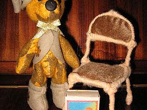 Стул для кукол   Ярмарка Мастеров - ручная работа, handmade