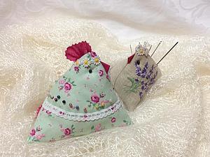 Шьем многофункциональную Курочку-пирамидку из лоскутков. Ярмарка Мастеров - ручная работа, handmade.