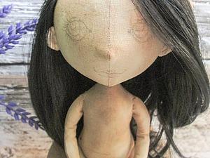 Видео мастер-класс: тонировка текстильной куклы. Ярмарка Мастеров - ручная работа, handmade.