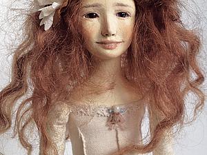 Аукцион авторская художественная кукла Анна   Ярмарка Мастеров - ручная работа, handmade