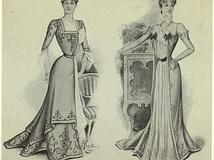 Домашнее платье XIX века. Ярмарка Мастеров - ручная работа, handmade.