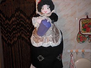 Кукла-пакетница | Ярмарка Мастеров - ручная работа, handmade
