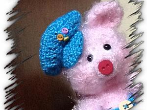 Вязаная кепка для игрушки своими руками. Ярмарка Мастеров - ручная работа, handmade.