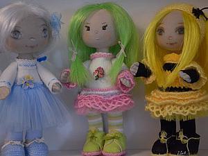 Как сделать волосы для куклы. Ярмарка Мастеров - ручная работа, handmade.