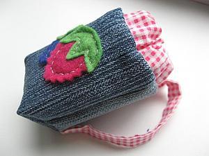 Шьем маленький рюкзачок для игрушки | Ярмарка Мастеров - ручная работа, handmade